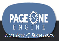 Page One Engine Review And Bonus
