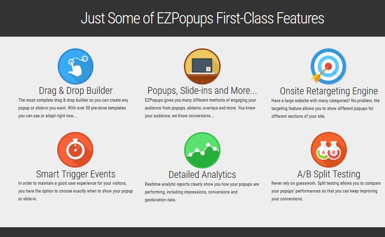 Ezpopups-Features